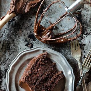 Dark Chocolate Fudge Frosting.