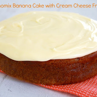 Thermomix Banana Cake with Cream Cheese Frosting Recipe