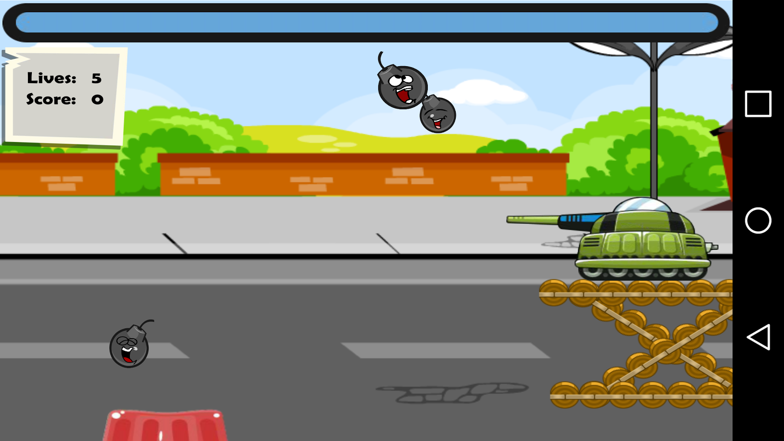 Happy Boom Bombs Bounce- screenshot