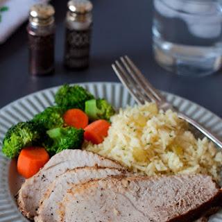 Pork Sirloin Tip Roast in the Pressure Cooker.