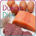 Dukan diet plan icon