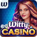 Witty Casino - Free Poker SLOTs, Dice & Card Games icon