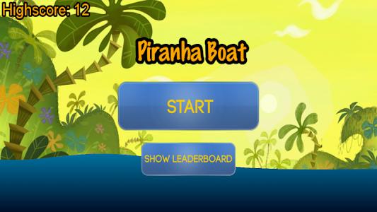 Piranha Boat screenshot 0