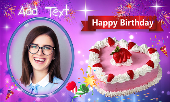 Download Birthday Frame Happy Birthday photo Frames APK latest ...