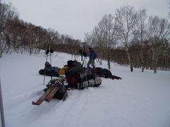 Отчет о лыжном походе пятой категории сложности  по южной Камчатке