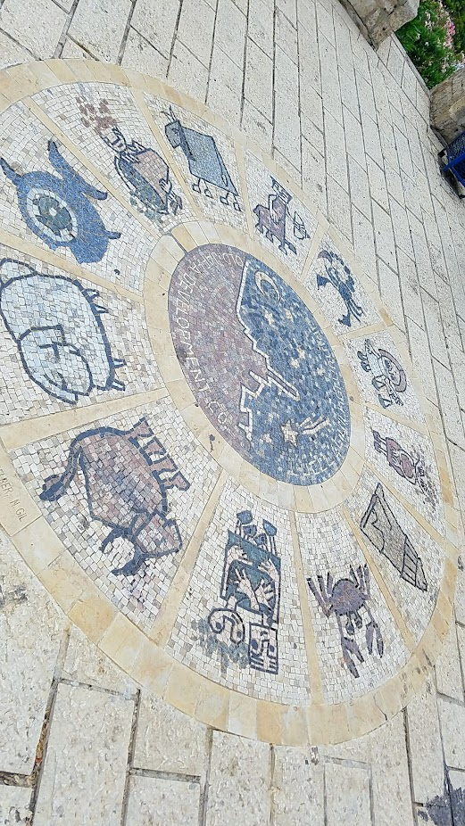 Travel Tuesday, walking in Jaffa and Tel Aviv in Israel visit: The Wishing Bridge - an ancient legend holds that anyone boarding the bridge holding their zodiac sign and looking at the sea will have their wish come true.
