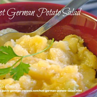 Rose's Hot German Potato Salad