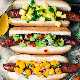 Tropical Hot Dog Bar.