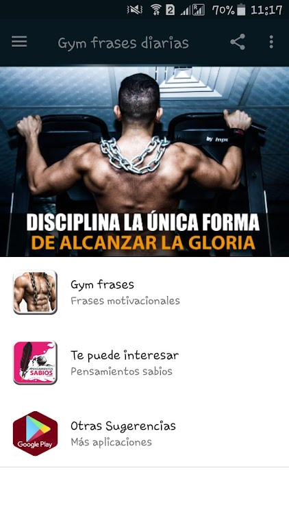 Gym Frases Diarias Android Apps Appagg