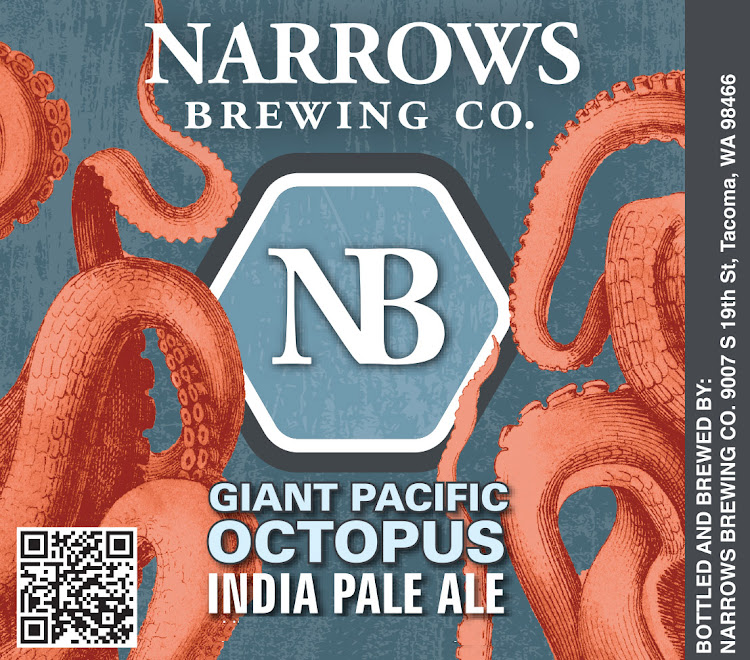 Logo of Narrows Giant Pacific Octopus