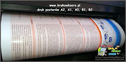 Photo: Poster A2 - do druku użyto papieru fotograficznego - czas realizacji na poczekaniu.