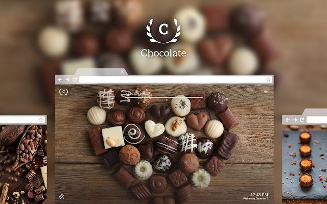 Chocolate HD Wallpaper New Tab Theme