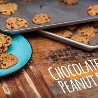 Vegan Peanut Butter Protein Cookies