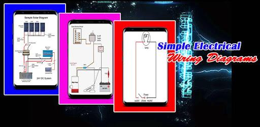 Schema Elettrico Wiring Diagram : Simple electrical wiring diagrams app su google play