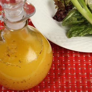 Dana Carpender's Low-Carb Basic Vinaigrette Salad Dressing.
