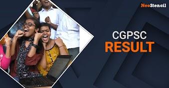 CGPSC Result 2020 - Chattisgarh PSC Prelims Result released!