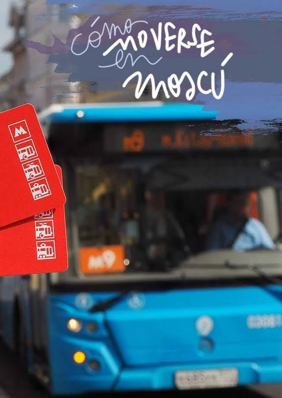 transporte urbano en Moscú
