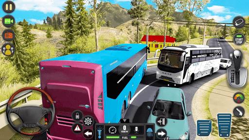 Modern Bus Simulator Drive 3D: New Bus Games Free apktram screenshots 8