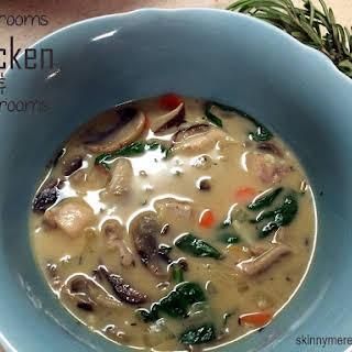 Mushroom Chicken and Mushroom Soup.