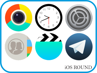 OS Round - Icon Pack Screenshot