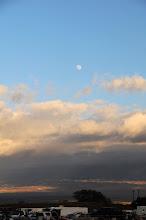 Photo: Nearly a full moon....