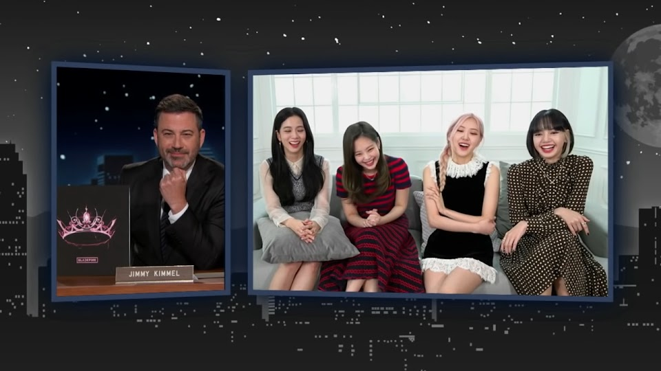 Jimmy Kimmel Interviews BLACKPINK! 6-8 screenshot