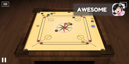 Carrom : Candy Carrom 3D FREE  captures d'écran 1