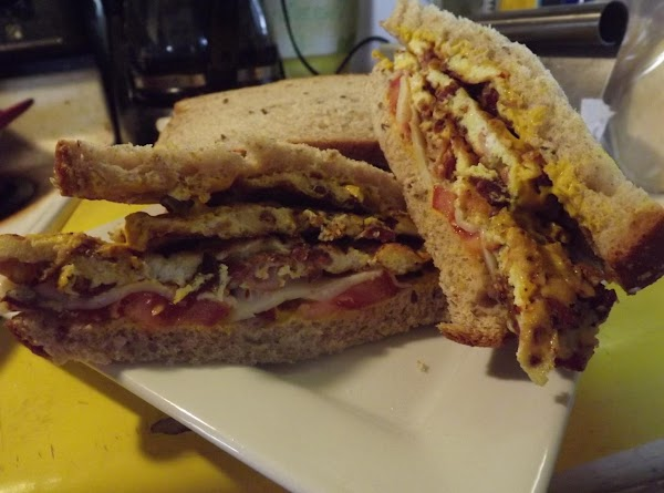 Dressed Up Egg & Bacon Sandwich Recipe