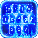 Neon Flames Animated Keyboard + Live Wallpaper icon