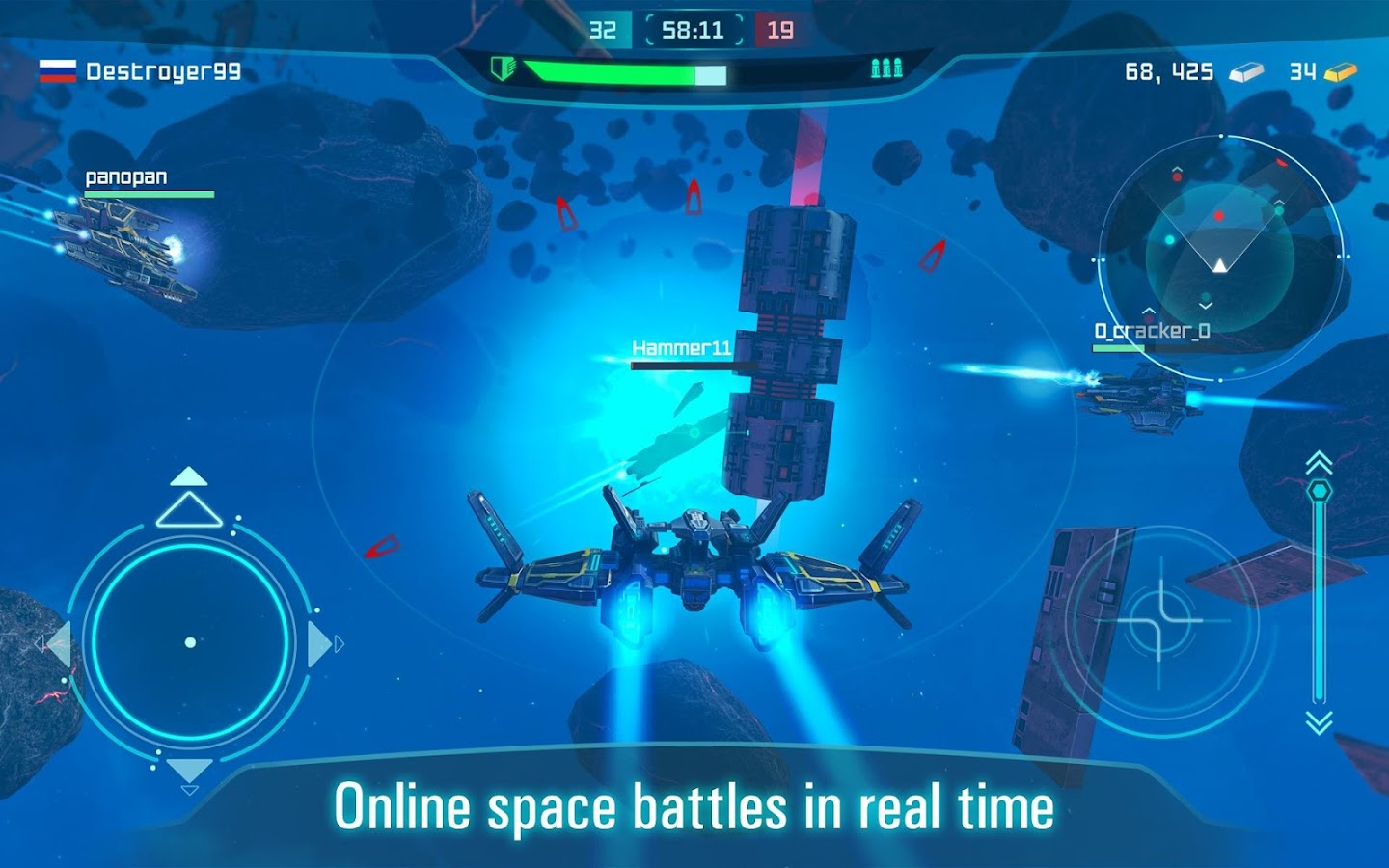 Space Jet: Space ships galaxy game- screenshot