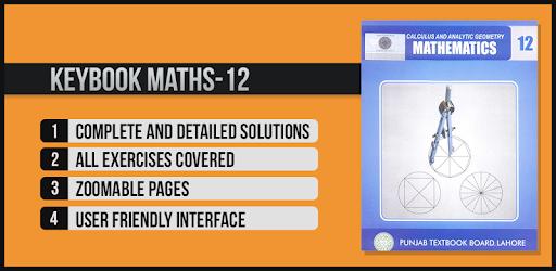 Key Book Maths Class 12 (PTB) - Apps on Google Play