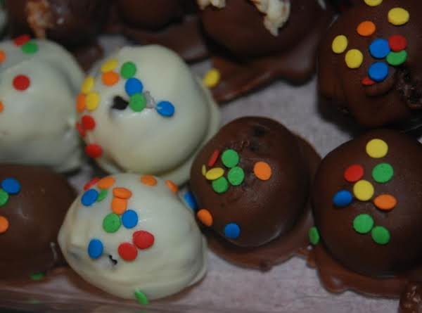 Chocolate Covered Cake Balls Recipe