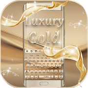Deluxe Gold Keyboard Theme