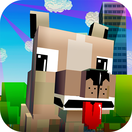 My Virtual Blocky Dog 3D - Take Care of a Pet!