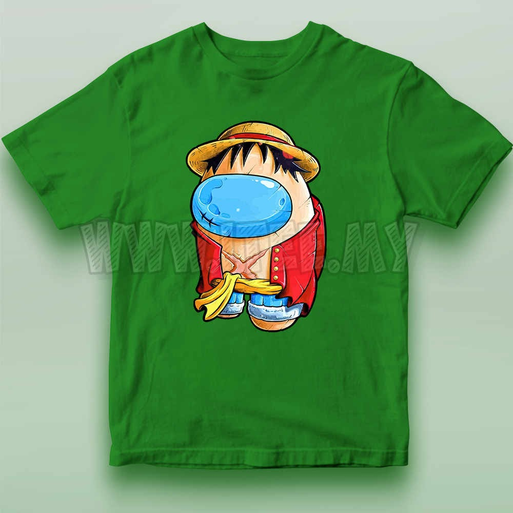 Monkey D. Luffy Straw Hat  One Piece Among Us Impostor 21