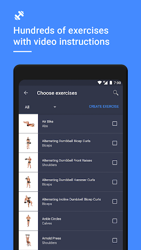 Gym Workout Tracker & Planner for Weight Lifting 1.38.0 Screenshots 4