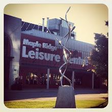 Photo: Maple Ridge Leisure Center #intercer #park #walk #architecture #structure #sun #city #fall #urban #design #town #britishcolumbia #canada #pretty #beautiful #metal #building #leisure #center #mapleridge #pittmeadows #swim #sport #recreation #town - via Instagram, http://instagr.am/p/RYcOWWJfrS/