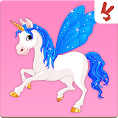 Unicorn memory game for kids