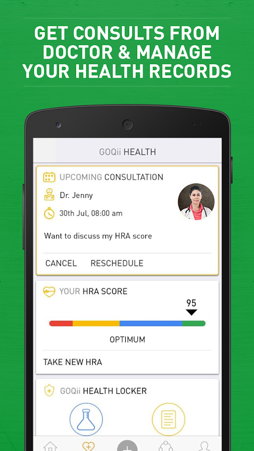 GOQii - Your Personal Coach- screenshot
