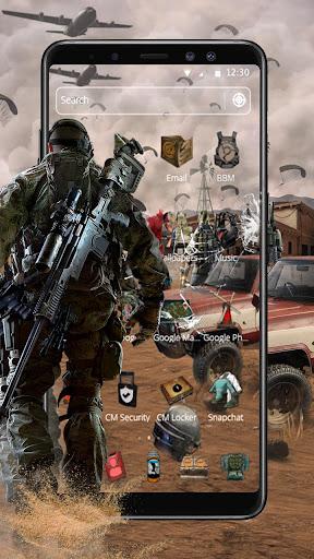 Cool Battle Survival Theme 1.1.5 screenshots 2