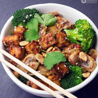 Miso Tofu Noodles.