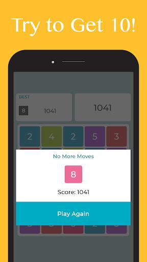 Just Get Ten - Get 10 Number Puzzle Offline Games apkmr screenshots 3