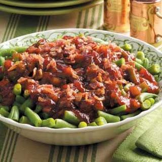 Barbecue Green Bean Bake