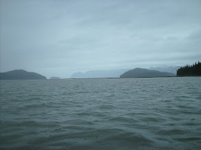 Photo: Entering Frederick Sound from Dry Strait.