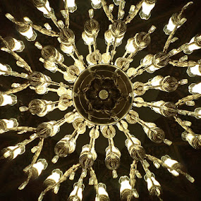 chandelier from persia by Kumail Abbas - Buildings & Architecture Other Interior