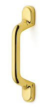 Photo: B1-3-PB Classic Suite cabinet pull in Polished Brass finish