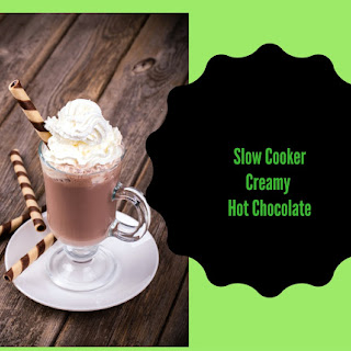 Creamy Hot Chocolate In The Slow Cooker