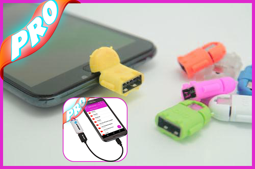how to connect pendrive to android mobile using otg cable