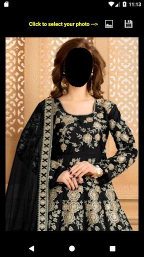 Bridal Salwar Suit Face Changer 2.0 screenshots 2