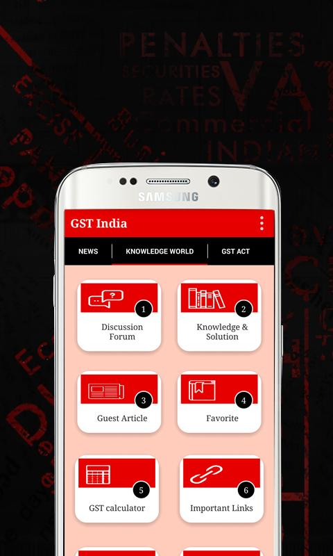 GST India (Updated Acts/Rules)- screenshot